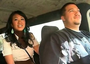 Akira Lei is a exciting Asian brunette that is caught fucking in transmitted to back of a van. She is hungry for exclude and transmitted to guy that she is with does not frustrate her.