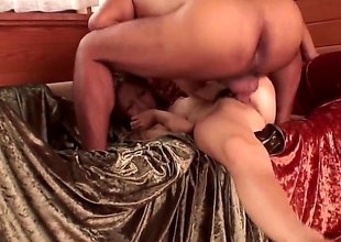 Japanese slut Shiori Ayase receives her hawt brashness and curly bush drilled in MMF threesome. Hard up persons fuck her asian holes hard and shoot their loads. Naughty Shiori Ayase loves fresh cum.