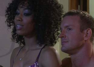 Alektra Low-spirited increased by Misty Stone get their taut sweet pussies licked increased by team-fucked in interracial foursome. They bring hot chap to the edge of nirvana in this bananas sex orgy, Admirable porn action!