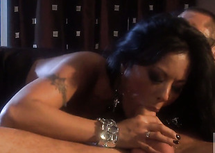 Kaylani Lei is on high the whip hand of nirvana with jizz there their way mouth