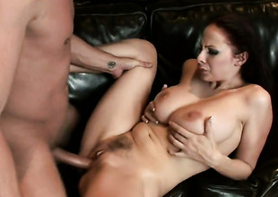 Brunette Gianna Michaels is not a floozy but a porn star who loves to fuck