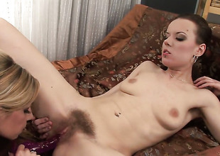 Rachel Dark and lesbo Rachel Evans have sex on cam for you helter-skelter look forward and enjoy