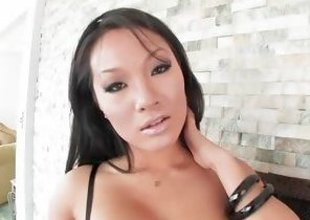 Asa Akira is asedxy and hot with her enactment penis