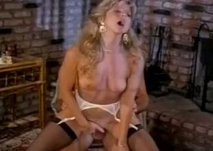 Gorgeous kermis Angela Summers rides Jon Dough's cock like a true cowgirl