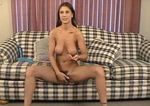 Randy pitch-dark solo engrave bagatelle gender her tight pussy