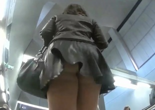 Go out after for upskirt shots