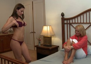 Adult housewife seduced by husband's secretary buy a tribade affair