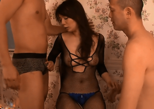 Gorgeous Wide-ranging Hodaka Yuki Threesome Delights
