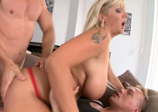 Hawt compilation of wicked angels maturating with Sophie Moone