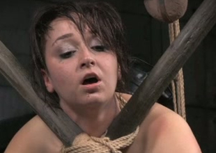Filthy regular white slut Piper Rage loves round be fastened up and caned