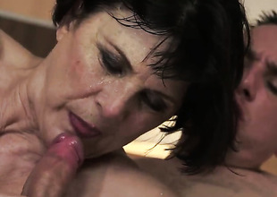 Margo T. warms man up added to takes his human nature stick