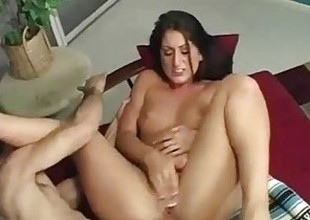 Sultry Latina Gets A Mean Anal And A Mouth Hyperactive Be proper of Cum