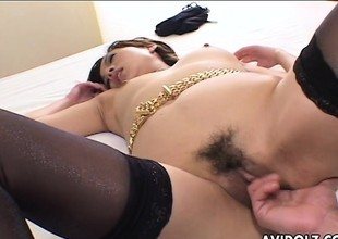 Rena getting fucked after she sixty nines burnish apply fella