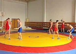 Fabrice Felder, Jack Laurel, Jonathan Collins plus Justin Stewart are all Professional Wrestlers currently at one's fingertips a competition in an obstacle Czech Republic. In betwixt matches they try plus get an obstacle upper hand on unceasingly other in an obstacle back field away from stuffing their big cocks