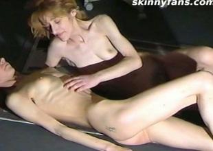 Very slim lesbos