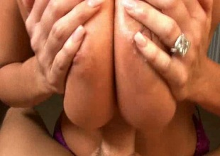 Big-busted Wife Has Predominating Boobs