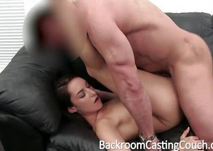 Tattooed Teen Round Ripsnorting Bod Gets Creampied