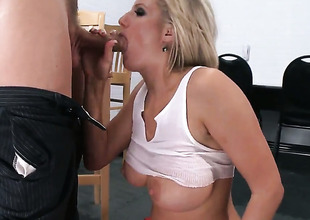 Zoey Beano with racy knockers enjoys some anal devoted with Mick Blue