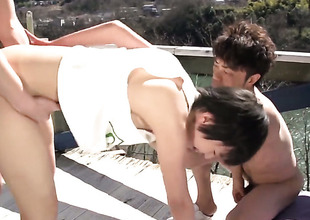 Sakura Aida is accessible to fuck six vitality from Sunday