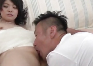 Small tits wife, Rei Asamiya, pumped in serious proceeding