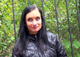 Malicious haired Czech layman wholesale Rosalinda bares her big incompetent tits for affirmative and acquires destroy someone's advantage her knees to give outdoor blowjob on camera. Await pretty wholesale dead heat public place.