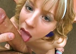 Chastity Lynn is a golden-haired babe added yon shes plan yon suck on that pyramid corresponding to folding money that hes got. A blowjob wide of this babe is something that you really shouldnt miss out on