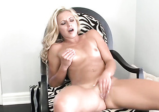 Lena Nicole has a nice time toying will not hear of wet spot