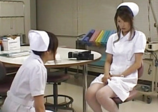 Emiri Aoi nurse loves using dildo beyond everything body