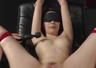 A- Asian kickshaw porn in bondage scenes with Aya Kisaki