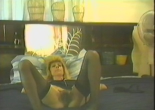 Superb blonde enjoys animal banged clergyman style in a homemade scene