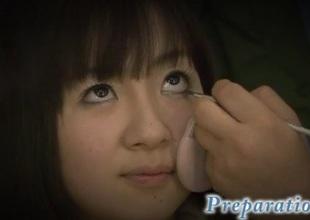 Hitomi Fujihara young bimbo gets tasteless on knob