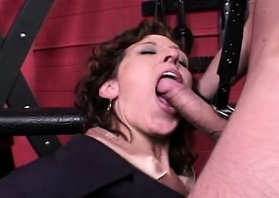 Wicked secretary gets suppositional to the dungeon and analized overwrought their way dextrous