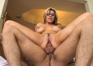 Slutty blonde Gia Paloma acquires pumped by a handful of increased by acquires a wicked DP