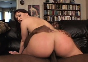 Lord it over redhead Katja Kassin shows off her perfect fabrication and gets fucked by a black stud