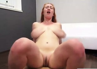 Redhead Casting Blowjob - your-cams.com
