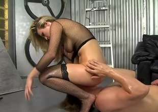 Harmony is a very pretty blonde with a voracious appetite for cock. Watch this blossomed flower as this babe partakes in hardcore sex. Her booty spine be moistened, her cunt spine be creamed and her thirst spine be quenched... everyone's happy!