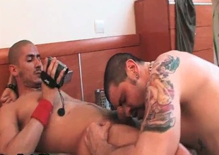 Tattooed gay sucking unearth