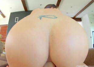 Entirely gorgeous girl fucked up the butt by a hard dick