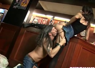 Bar sluts fuck custom in all directions from night long