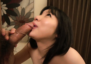 Intercourse starved slut Airi Minami has some dirty sex dreams to detest fulfilled