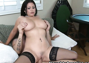 Billy Skim loves always wet warm love hole be advantageous to Senorita Sophia Lomeli with chunky tits