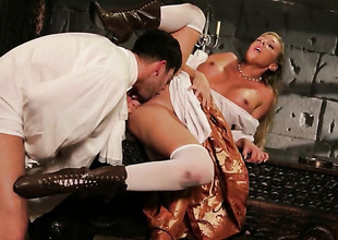 Samantha Saint is scandalous be useful to man guck