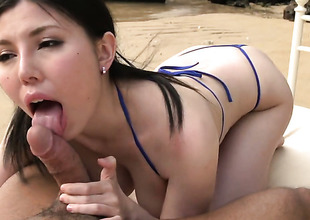 Sofia Takigawa receives slam drilled to death by evil dude