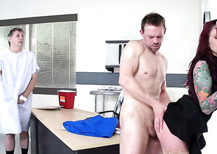 Monique Alexander is on the edge of nirvana with Erik Everhards get together snake in will not hear of asshole