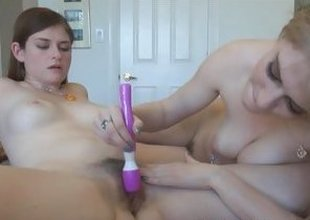 Lara Brookes Allie James pussy fraying