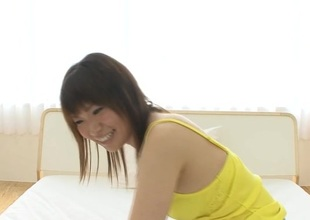 Lusty anal delightful be useful to large scoops Asian darling