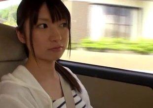 Kinky Japanese doll swallows cum after obtaining fucked dreadful on the yacht