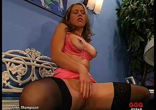 Hardcore German harpy enjoys anal sex and tons of cum in her frowardness