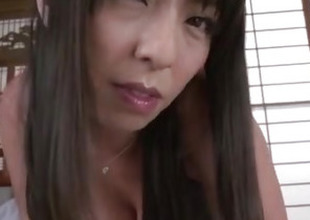 Ryoko Murakami, chubby pointer sisters milf, shakes hard on a chubby dick