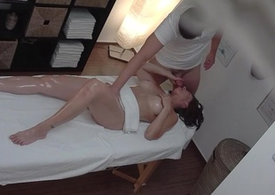 Busty MILF Gets Drilled During Massage